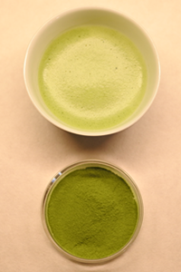 Matcha (powdered green tea)