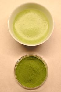 Matcha (thé vert en poudre)